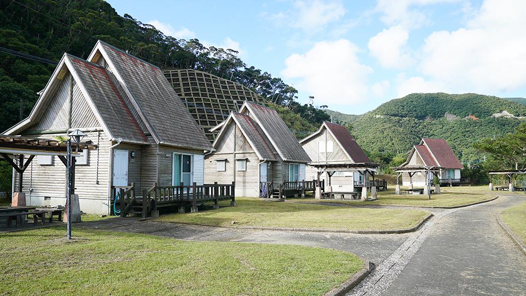 奄美市住用町のバンガロー