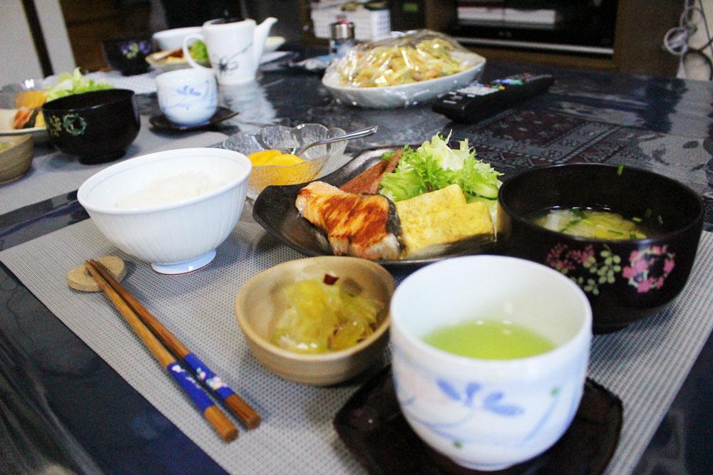 住用町ほぉらしゃ家の朝ご飯
