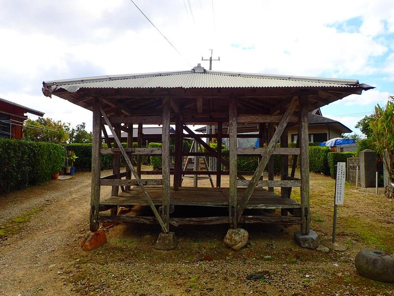 加計呂麻島の須子茂アシャゲ