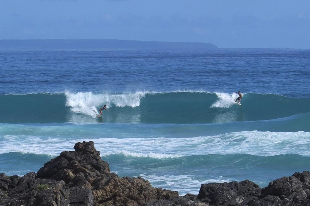 奄美でサーフィンを体験:奄美のサーファーたち