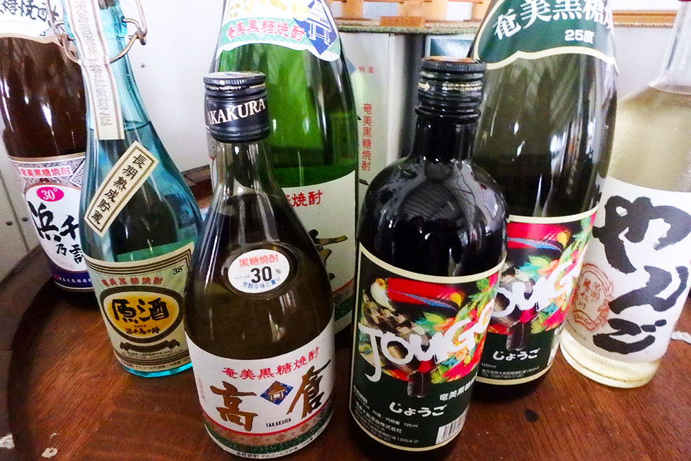 奄美大島焼酎自慢の銘柄たち