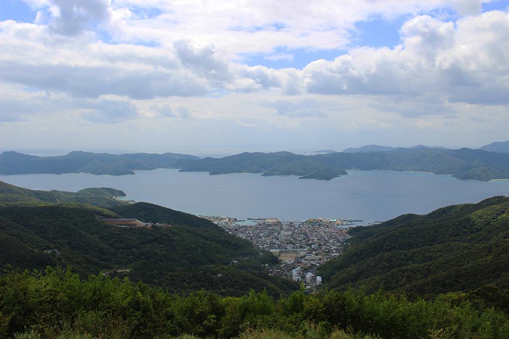 高知山展望所から見える景色