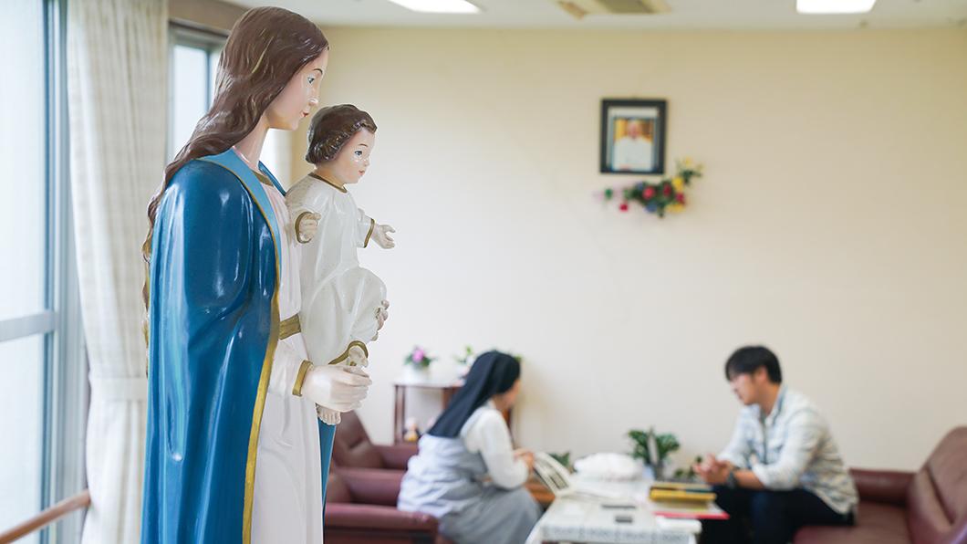 奄美大島 名瀬 教会 ケネディ 西仲勝教会