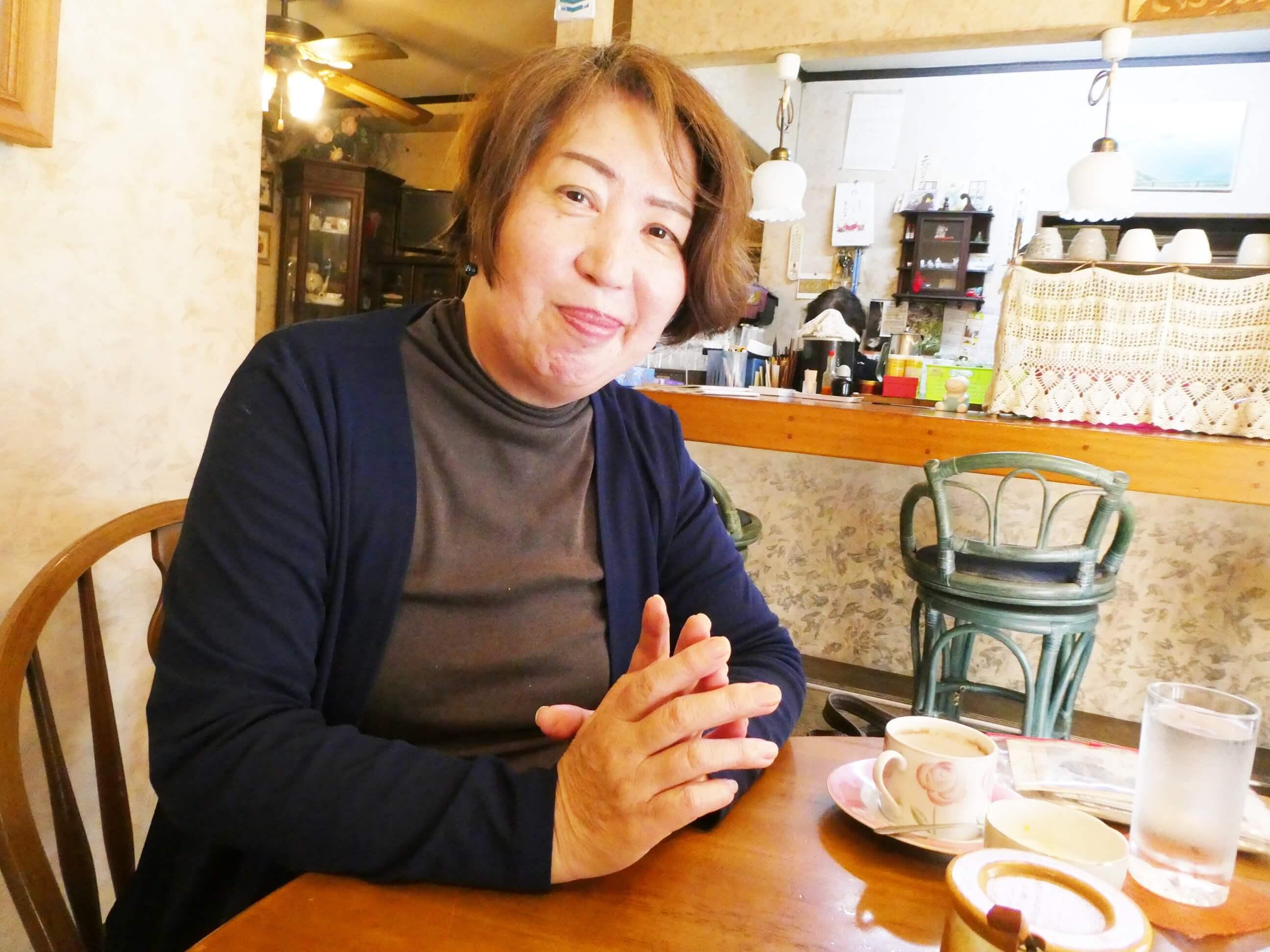 奄美にある松坂屋の女将さん松井さん