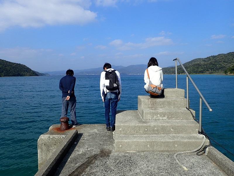 加計呂麻バス桟橋