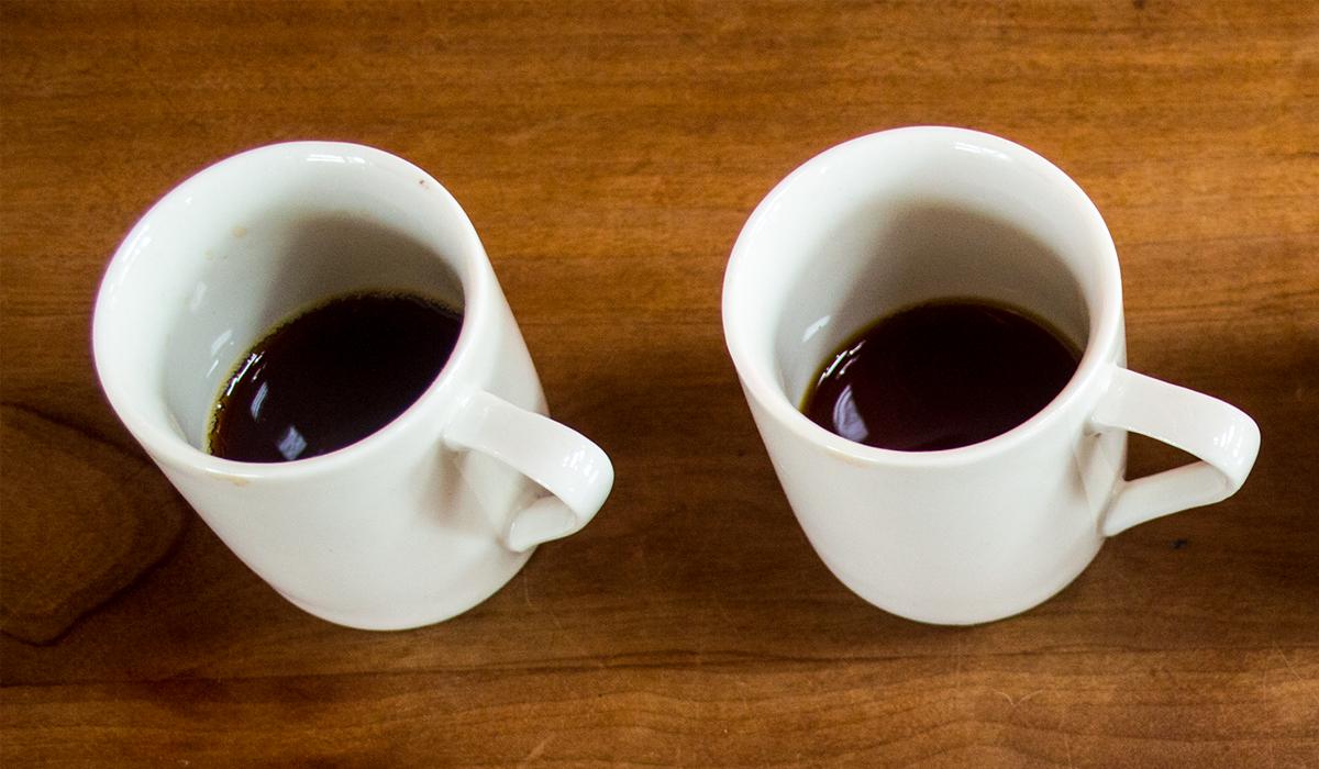 カップに入っているコーヒー