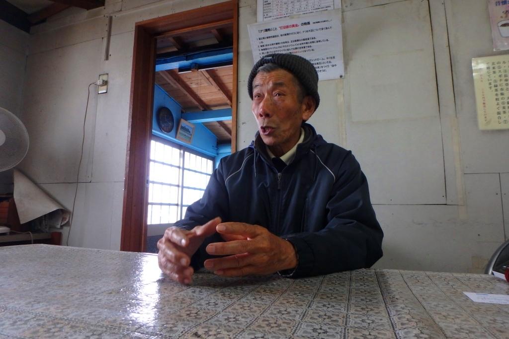 奄美打田原工場の和田さんもお肌がつやつや