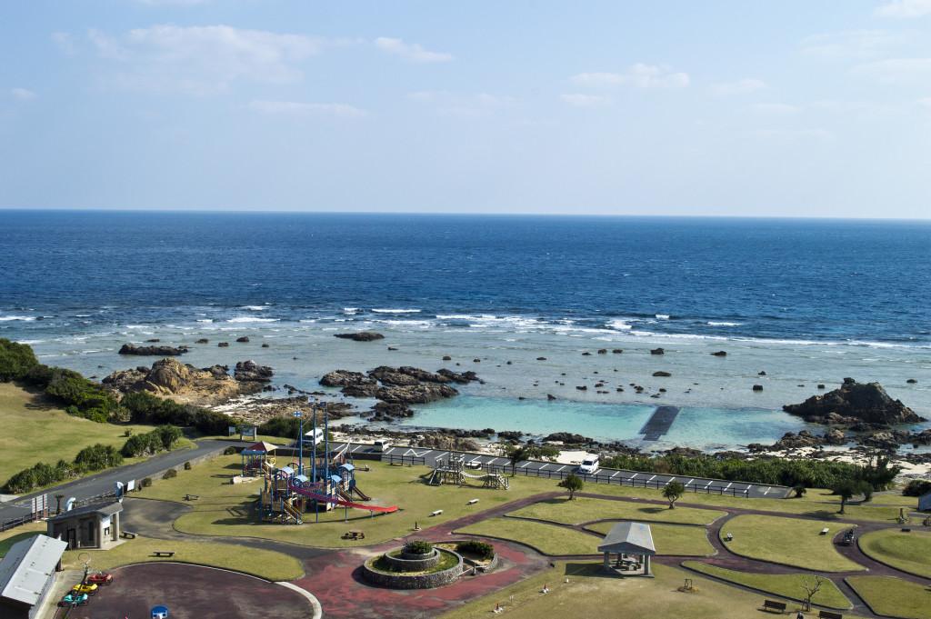 ドローンで撮ったあやまる岬観光公園の風景の写真hirobaweb-1024x681