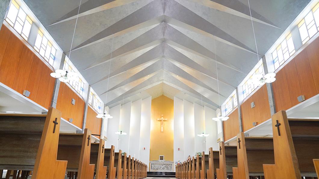 奄美大島 名瀬 教会 ケネディ 聖心教会