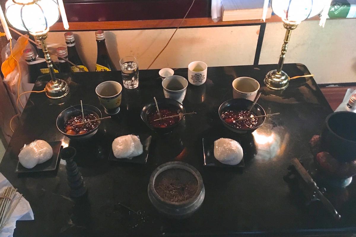 奄美のお盆に食べるものの写真IMG_1985