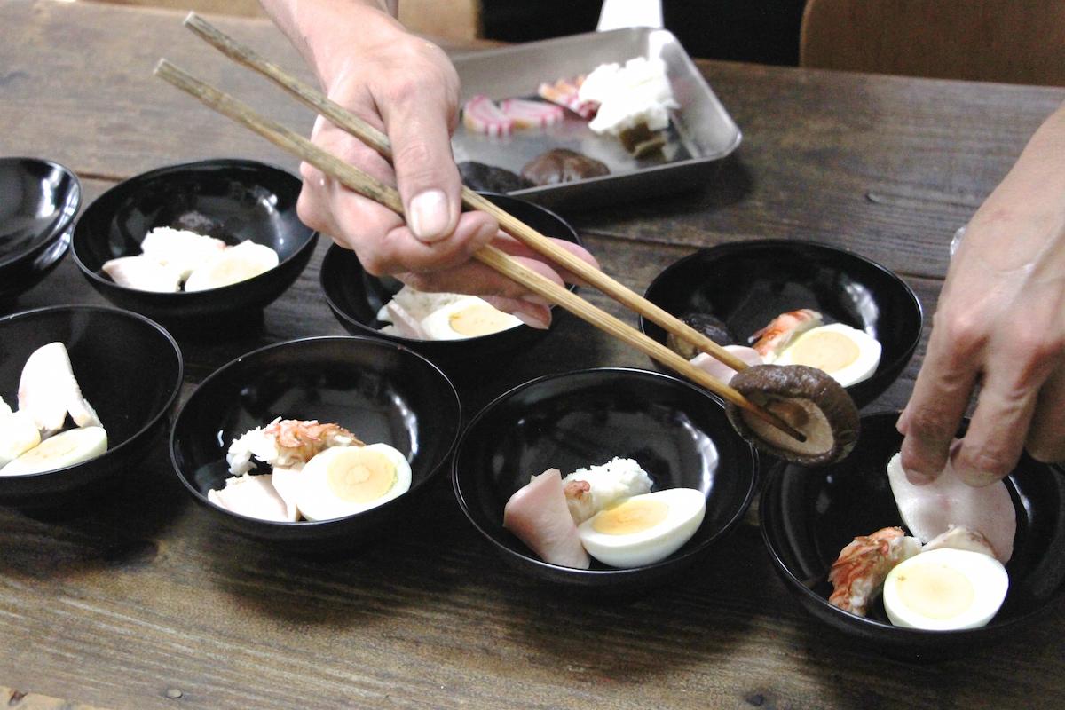 奄美のお盆送り盆に食べるお吸い物の中身な写真IMG_7523