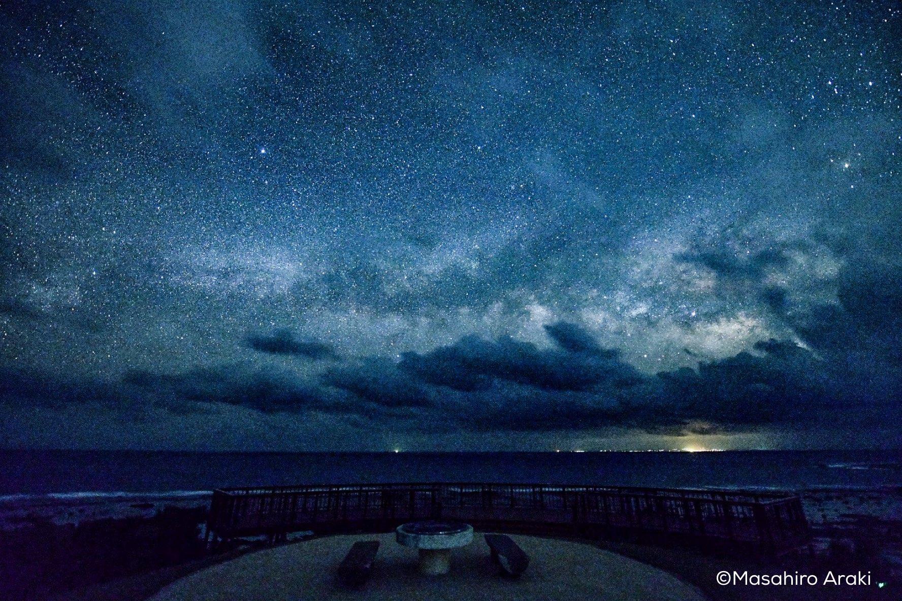 海から昇ってくる天の川の写真001_06 のコピー