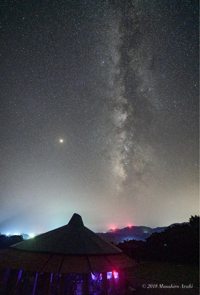 あやまる岬観光案内所から見える天の川の写真001_04 のコピー