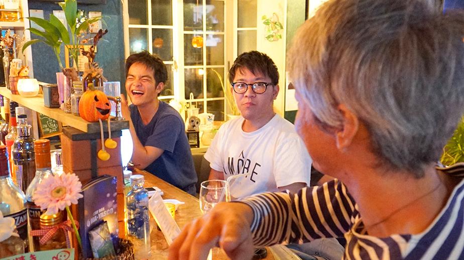 奄美大島LIVE BAR MA・YASCOカウンター