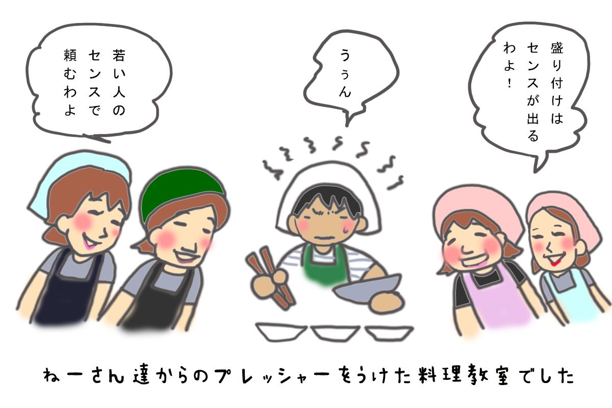 島料理漫画:鶏飯5