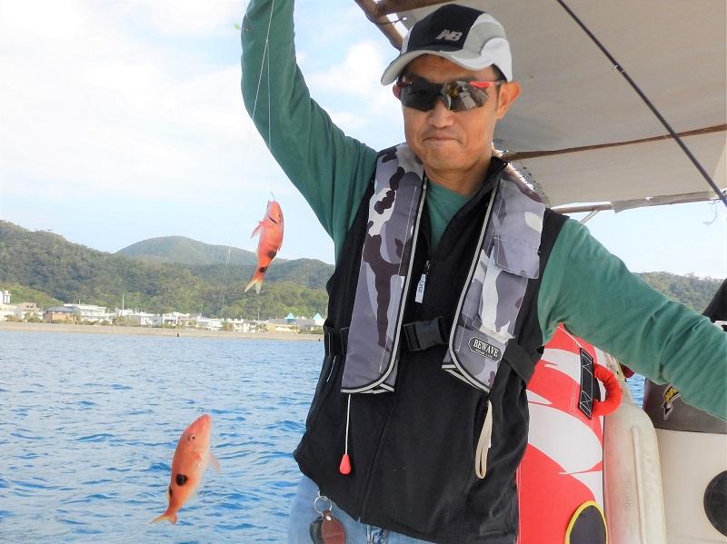 奄美ボブマリン船釣り体験6