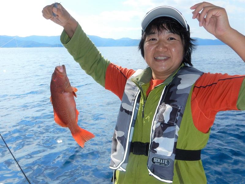 奄美ボブマリン船釣り体験7