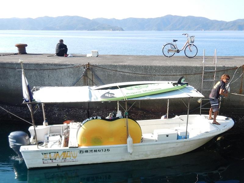 ボブマリン奄美の船