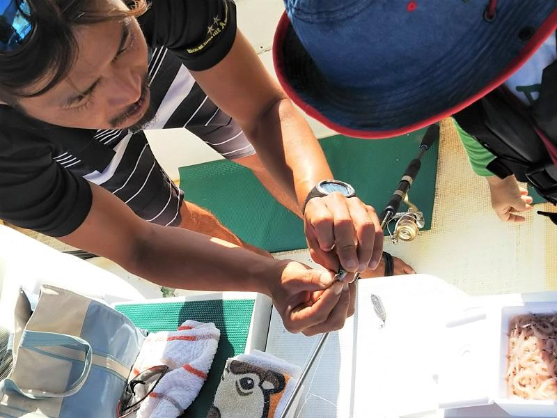 奄美ボブマリン船釣り体験2