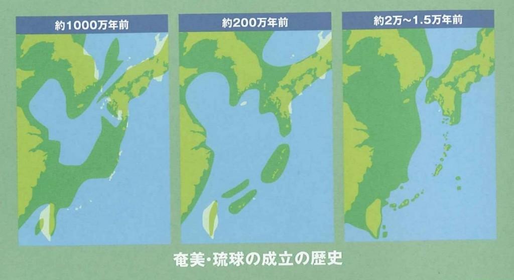 奄美・琉球の成立の歴史
