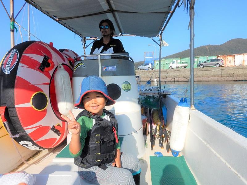 奄美ボブマリン船釣り体験1