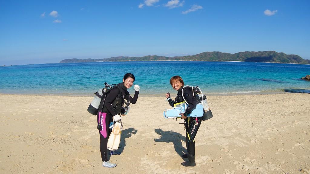 奄美大島 龍郷町 体験ダイビング ネイティブシー amami diving