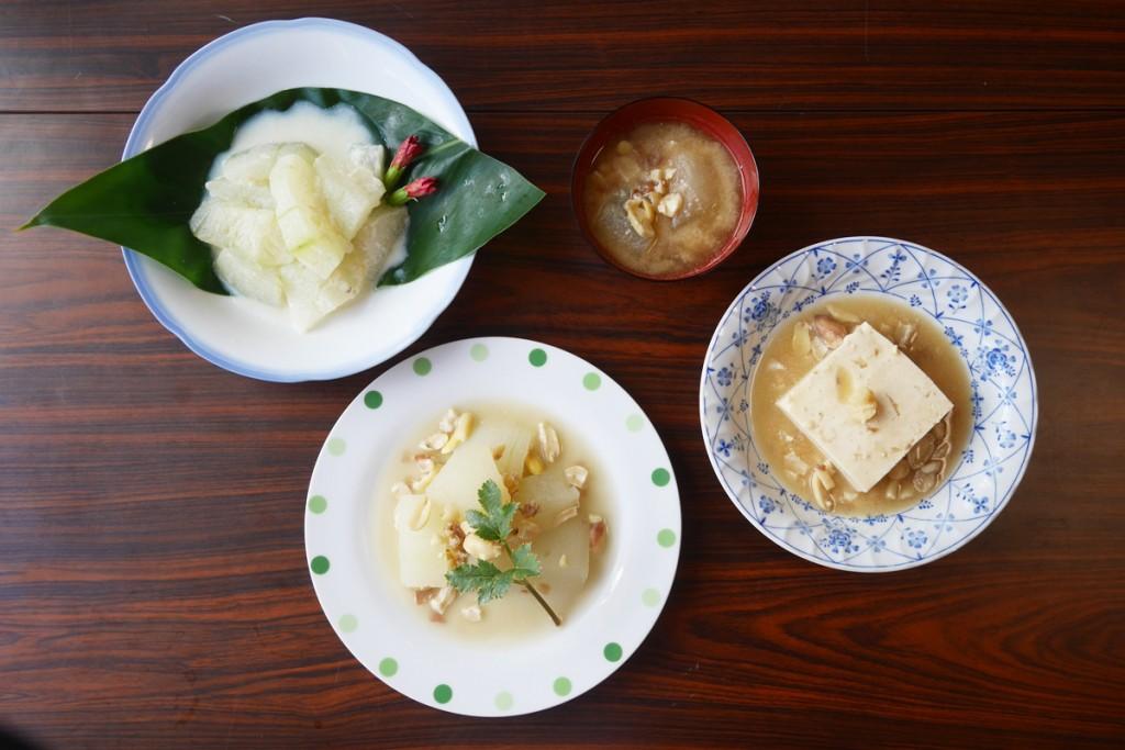 奄美のしぶり(冬瓜)料理