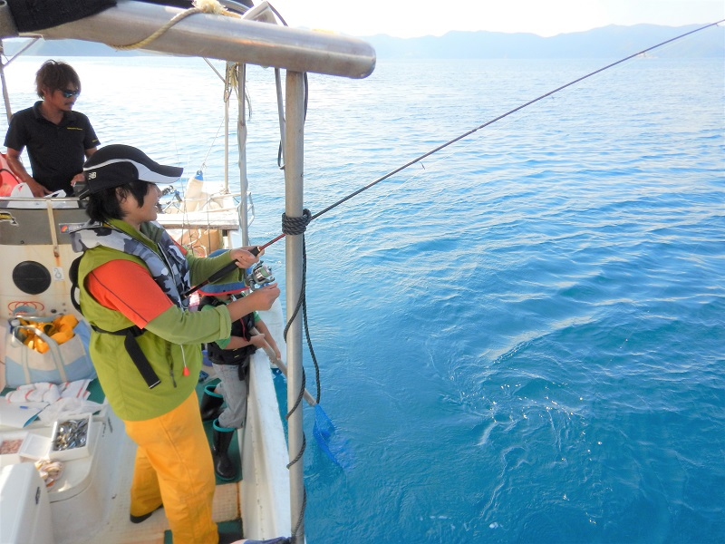 奄美ボブマリン船釣り体験4