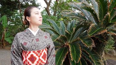 【最大5万円の助成金がもらえる!】奄美大島でお得に「本場奄美大島紬 着付体験」をしよう!