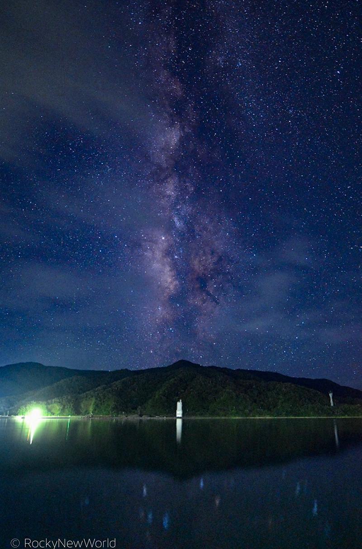 焼内湾から見る天の川9DA2760F-D789-416D-8630-FC00A853893Eのコピー