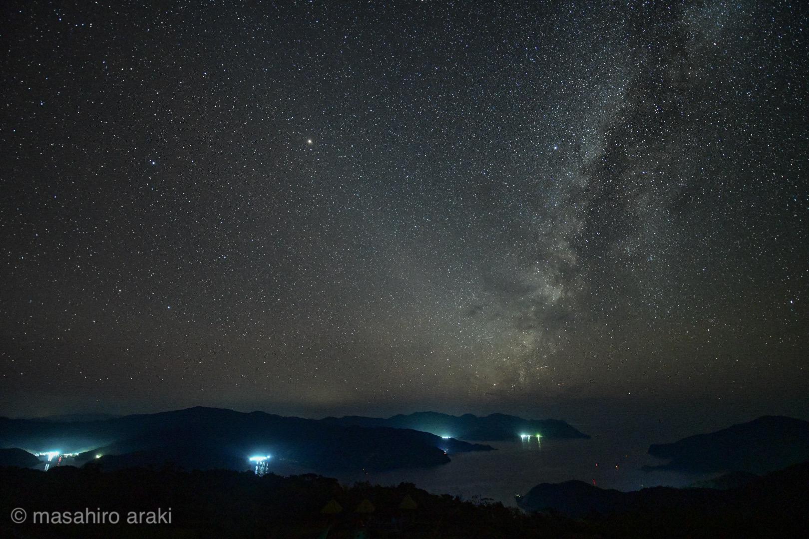 峰田山から見る天の川A632956F-33A9-4CA7-8E35-D460BF949CBC