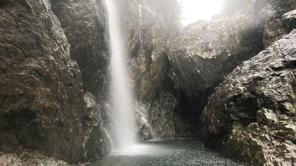 奄美大島 奄美市 住用 タンギョの滝 NPO法人ヤムラランド amami amamioshima