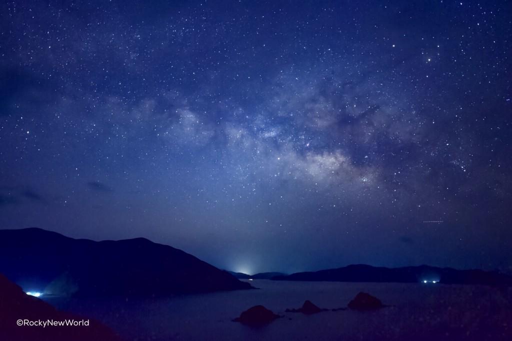 星空紀行_西古見で見られる夏の天の川