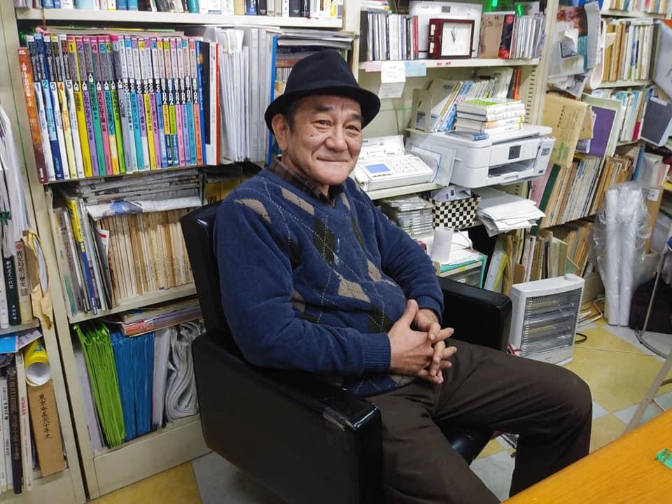 あまみ庵の店主の森本眞一郎さん