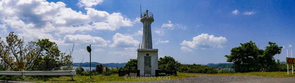 奄美瀬戸内町の瀬戸崎灯台