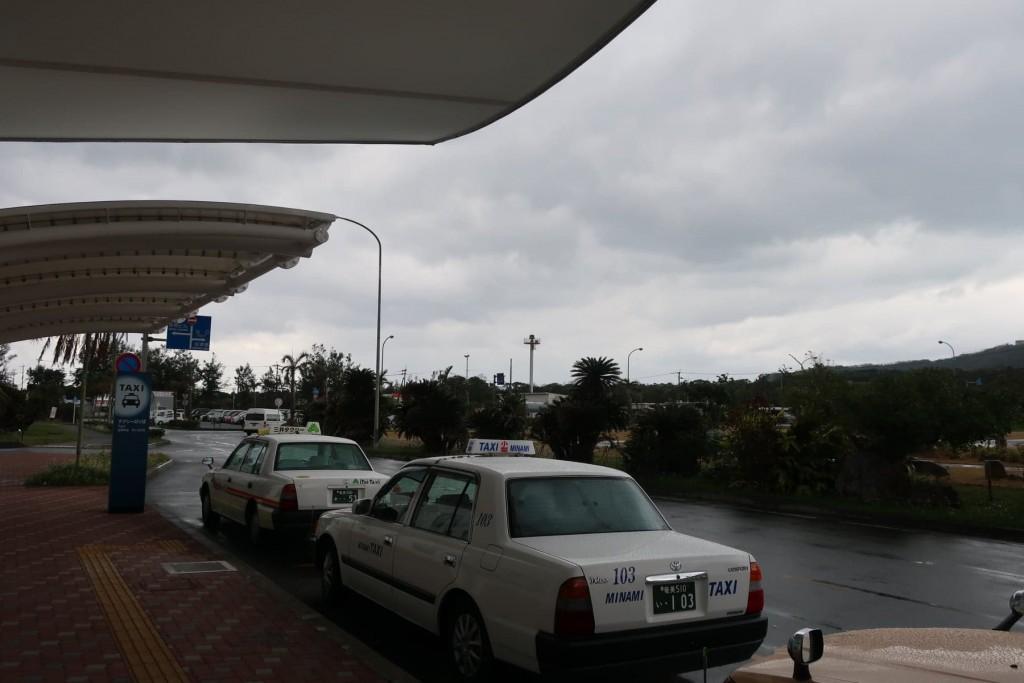 奄美大島空港のタクシー乗り場