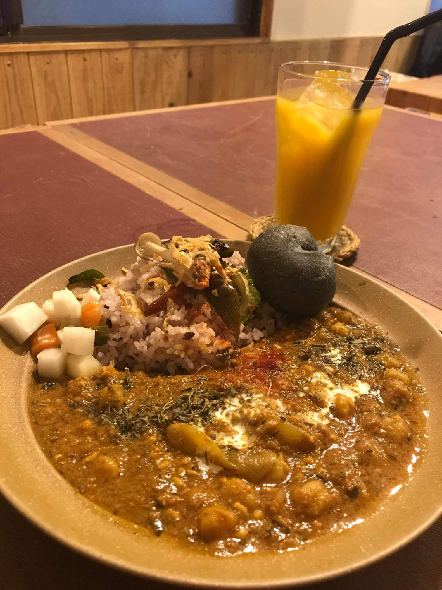 NOMAD Curry and Caféのカレー