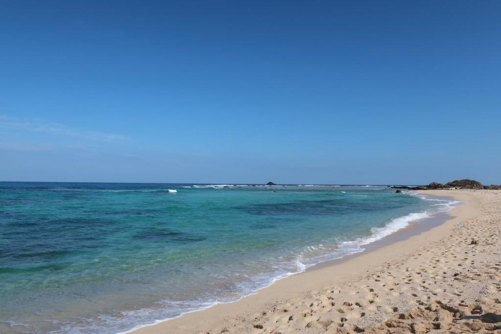 Tomori Beach, Kasari area of Amami City