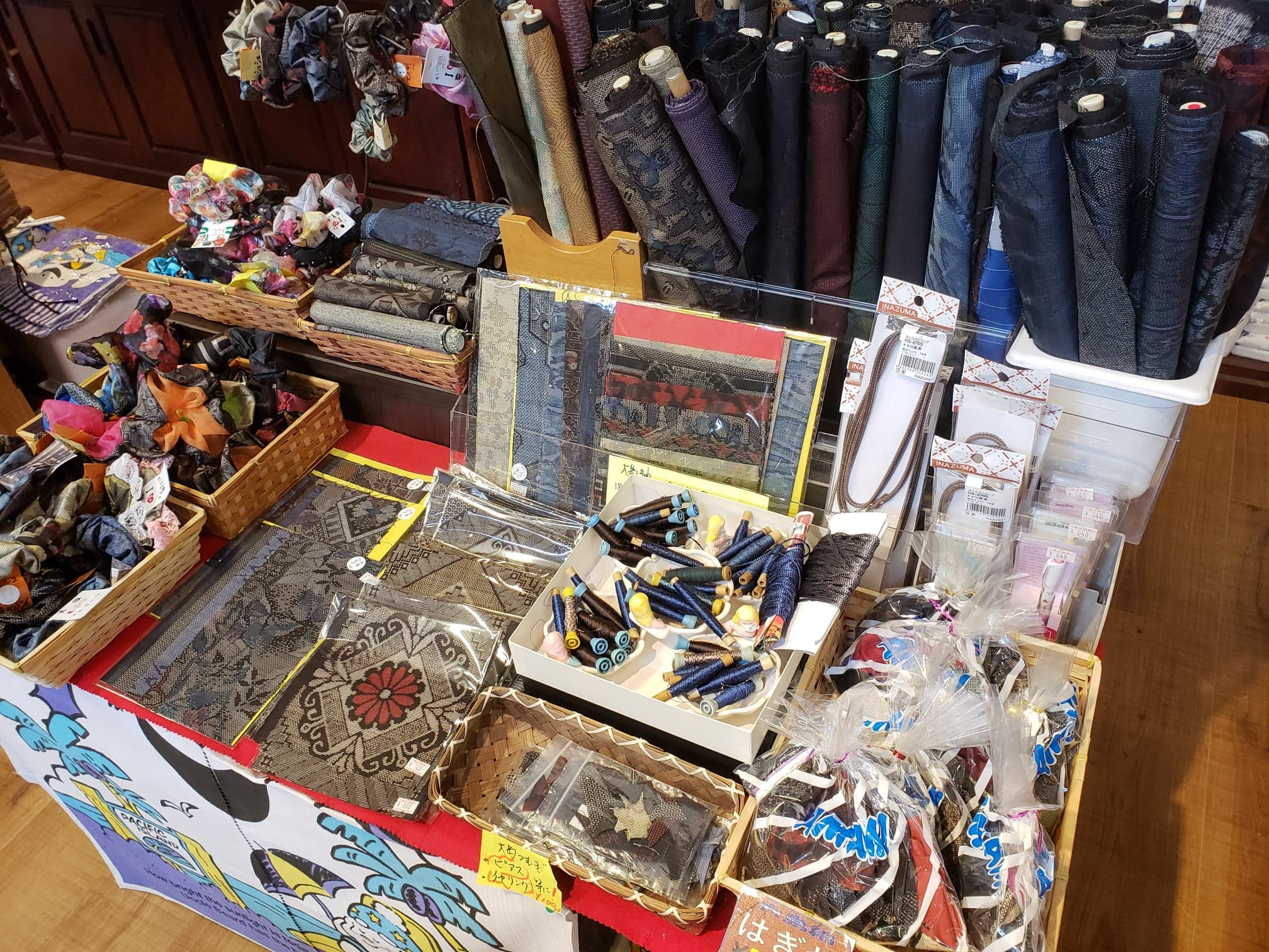 まえだ屋で販売されている大島紬の商品