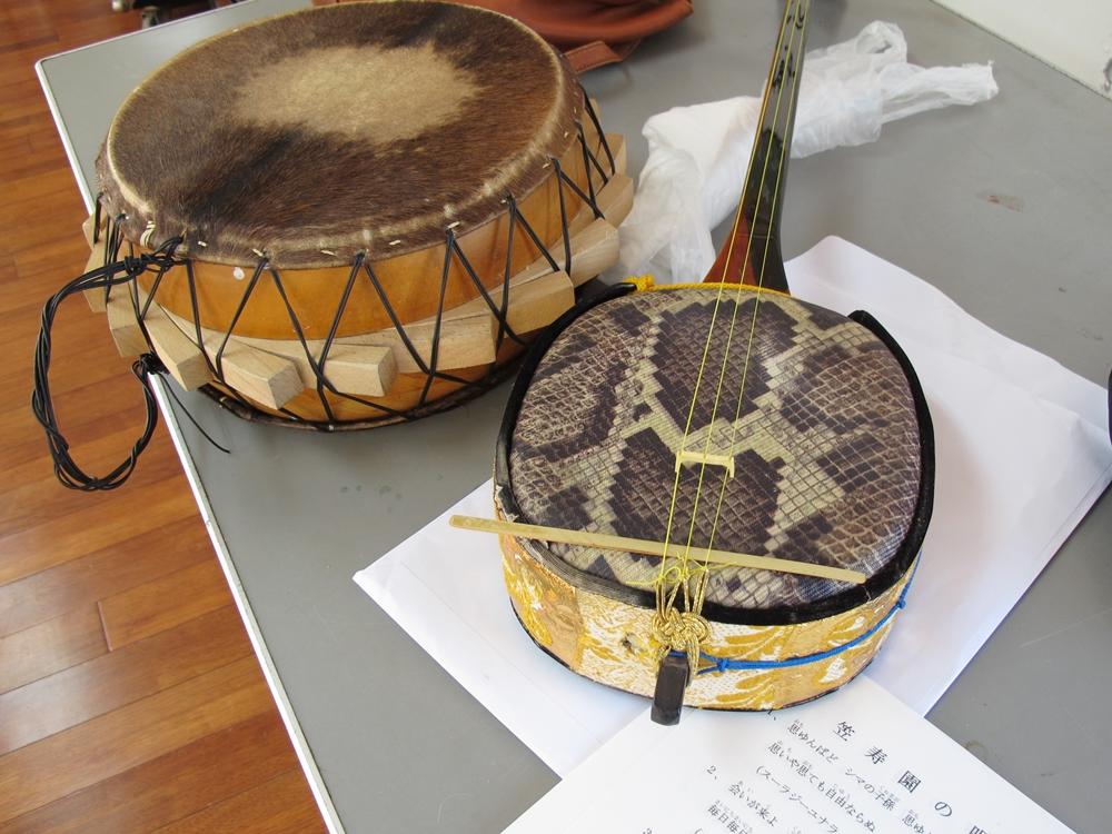 シマ太鼓と三味線佐仁の午後の旅 (7)