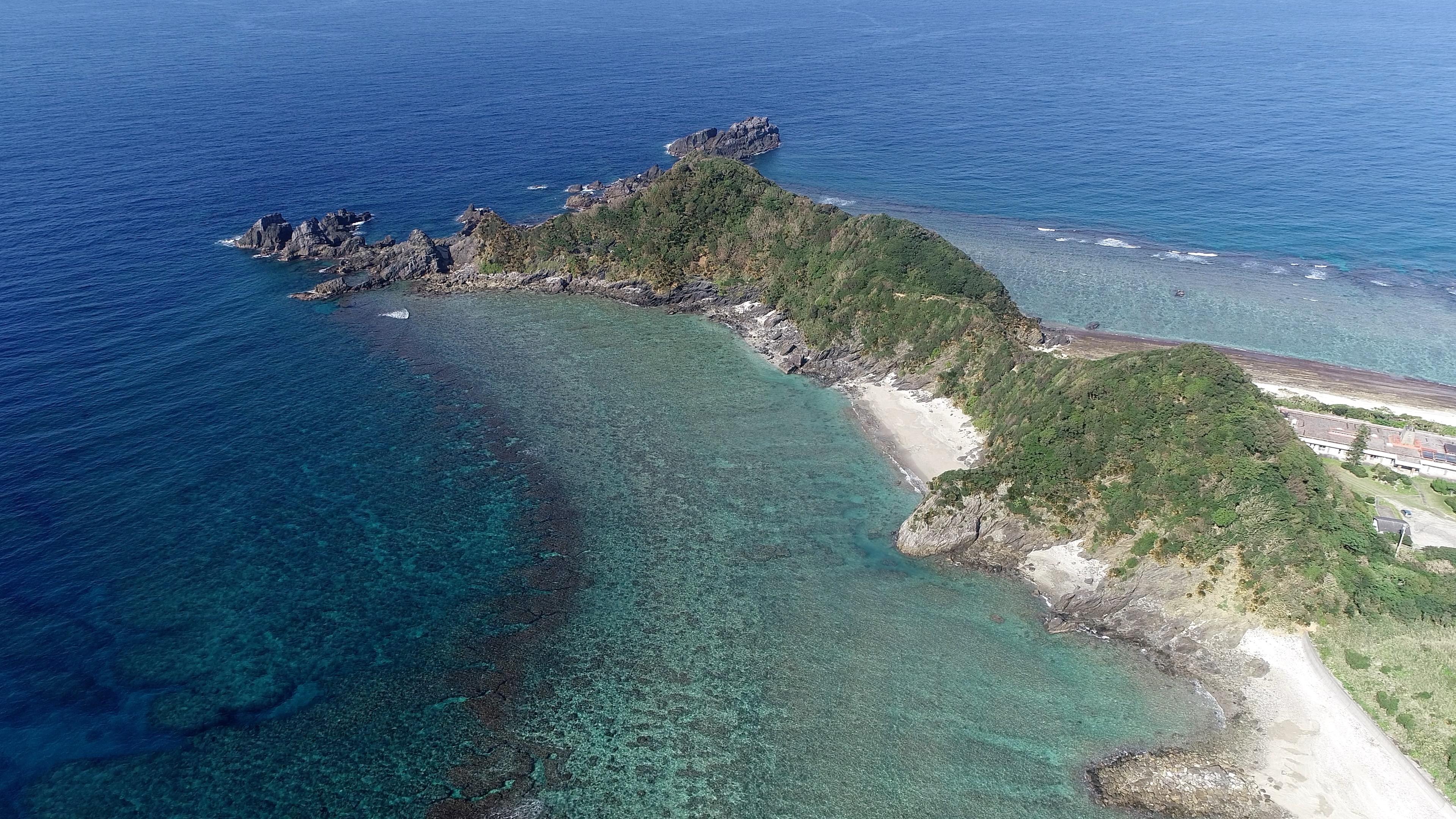 奄美大島 ドローン drone amami 阿山崎 大和村