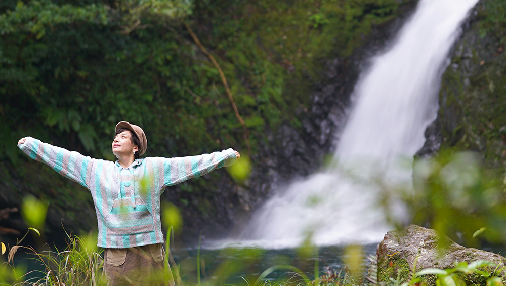 奄美大島 キャンプ AMAMIWINTERCAMP amami camp 大和村 マテリアの滝