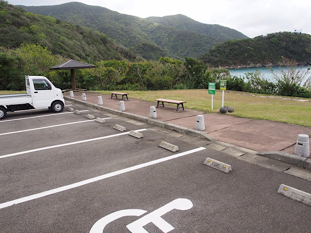 西古見ナハンマ公園の駐車場