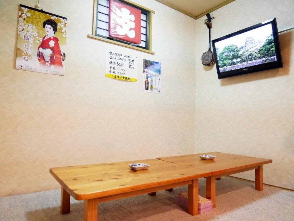 奄美屋仁川小料理屋たんぽぽの座敷
