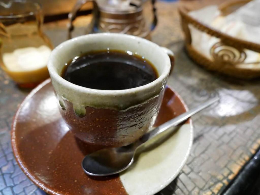 奄美の老舗喫茶店カフェテラス貴望ブレンドコーヒー