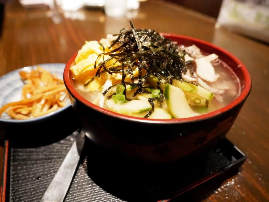 奄美大島の居酒屋若大将の鶏飯丼