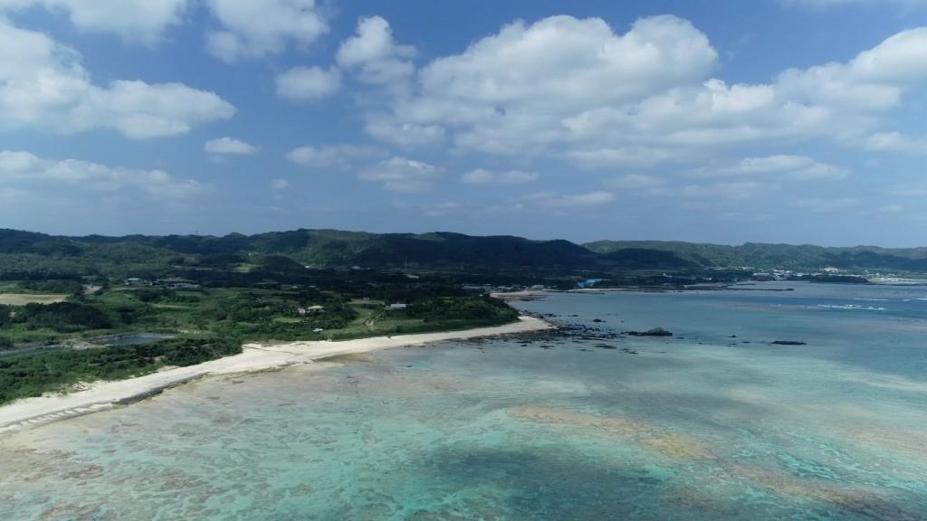 奄美大島 でのドローン空撮写真