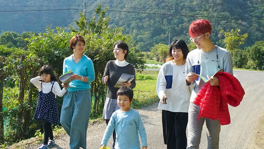 奄美大島の節子(せっこ)集落の集落案内ツアー
