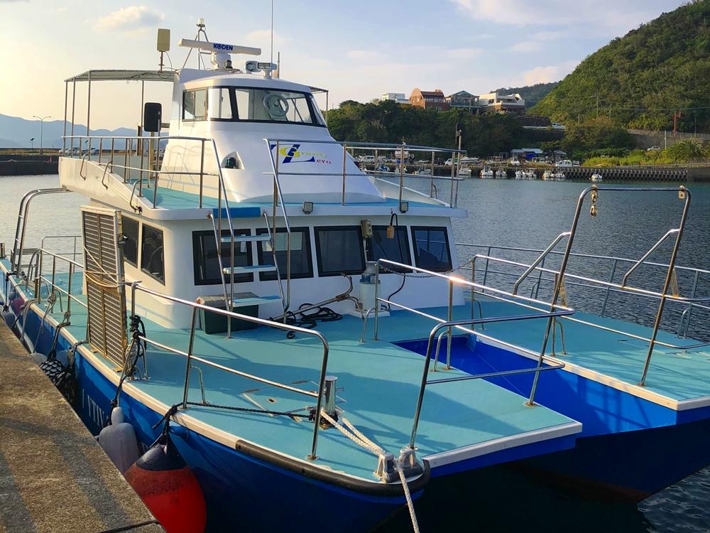 バリアフリーのボート