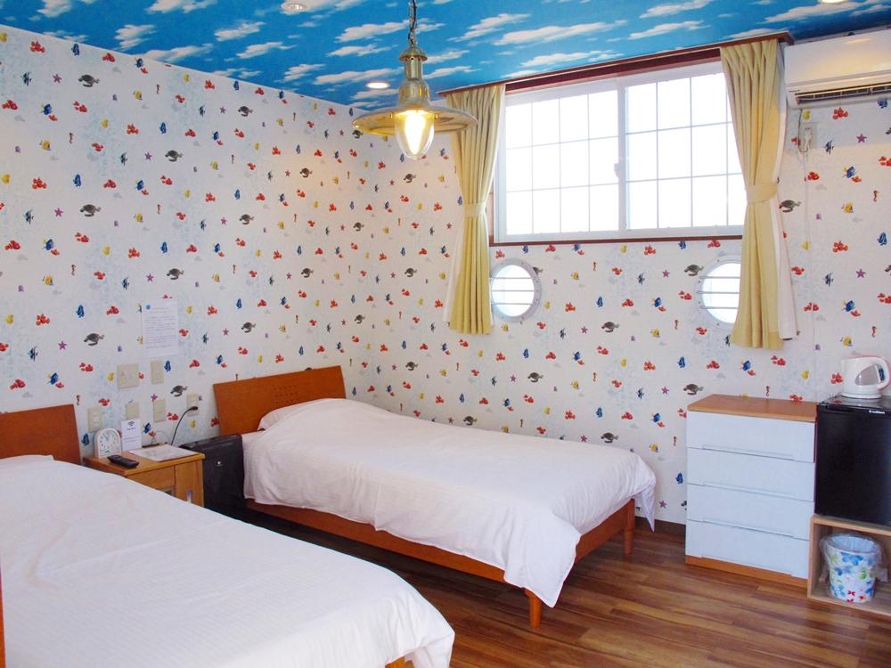 バリアフリーの客室